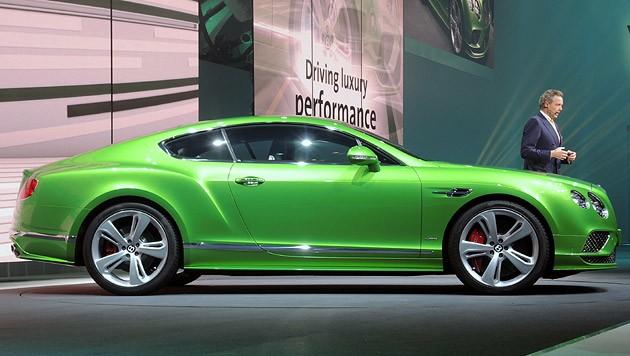 Bentley Continental GT Speed (Bild: Stephan Schätzl)