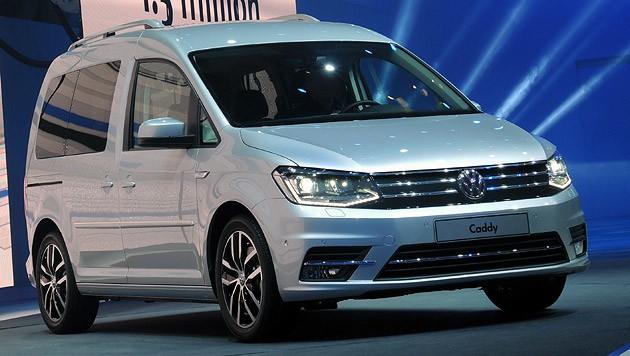 VW Caddy (Bild: Stephan Schätzl)