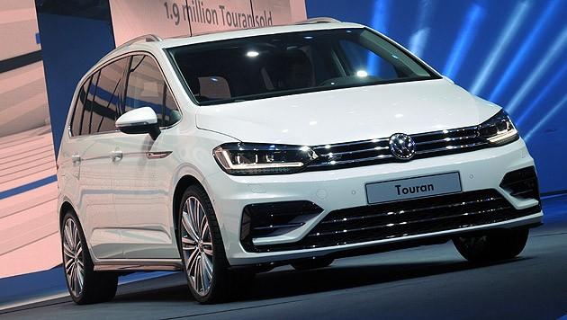 VW Touran (Bild: Stephan Schätzl)