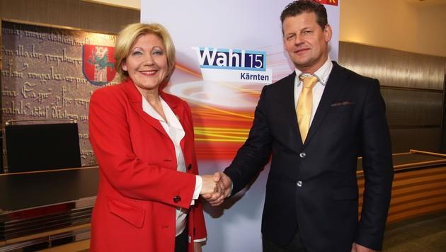 Das Duell um das Bürgermeisteramt in Klagenfurt lautet, wie schon 2009, Mathiaschitz gegen Scheider