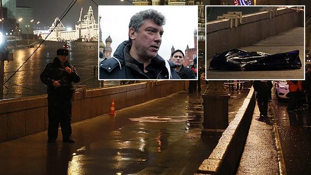 Der Oppositionspolitiker Boris Nemzow wurde in Moskau auf offener Straße erschossen.