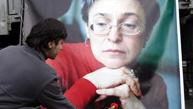 Die Journalistin Anna Politkowskaja wurde 2006 in Moskau erschossen.