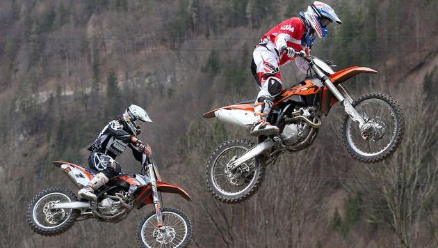 Nicht alle Motocross-Fahrer verhalten sich vorbildlich (Symbolfoto).