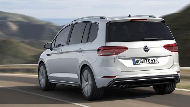 VW Touran R-Line (Bild: Volkswagen)