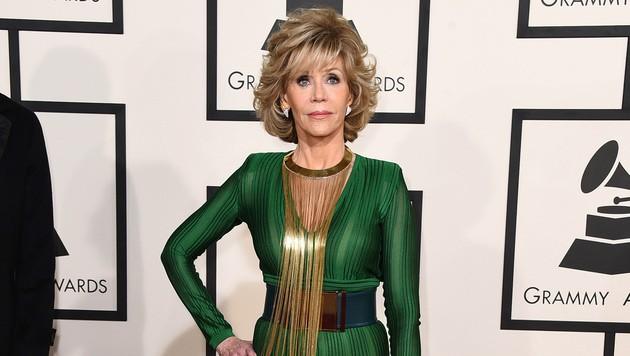Jane Fonda (Bild: Jordan Strauss/Invision/AP)