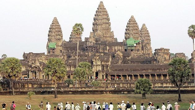 Die Tempelanlage Angkor Wat in Kambodscha (Bild: Mak Remissa/EPA/picturedesk.com)