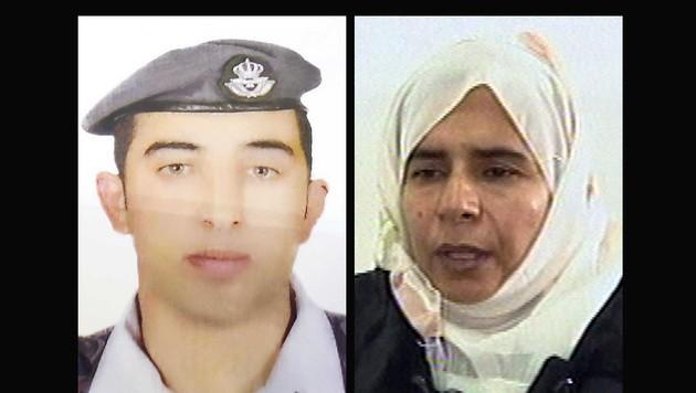 Jordanien erklärte sich bereit, die Irakerin Sajida al-Rishawi im Austausch freizulassen. (Bild: AP)