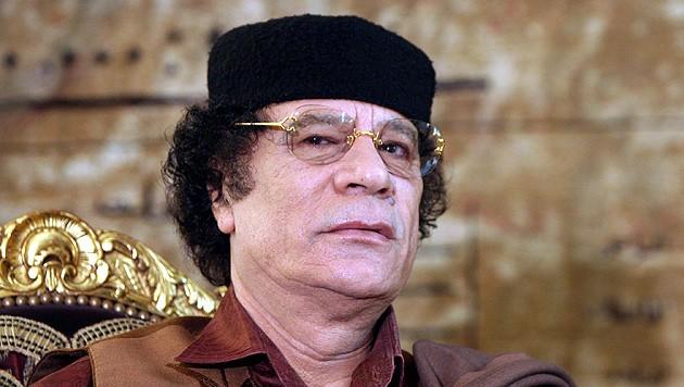 Libyens ehemaliger Machthaber Muammar al-Gadafi (Bild: EPA)