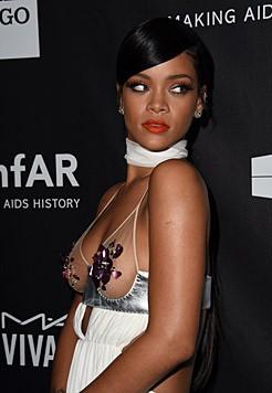 Rihannas Outfit war aus der Frühlingskollektion von Tom Ford.