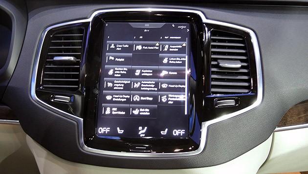 Sehr gelungene Touchscreenbedienung