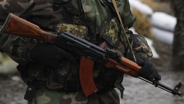 Eine AK-47 (Bild: AP (Symbolbild))