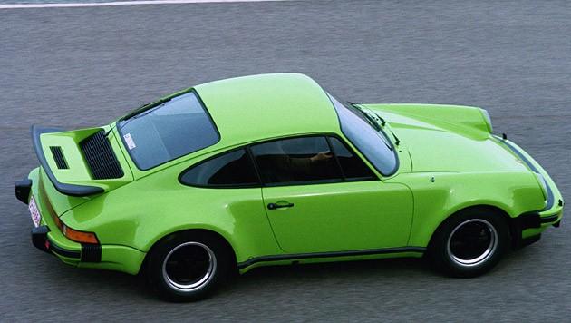 Porsche 911 von 1975 (Bild: Porsche)