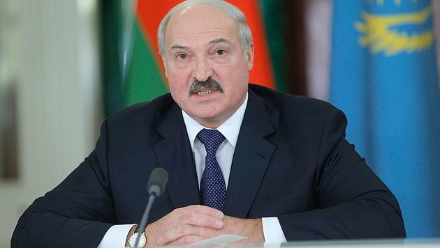 Weißrusslands Präsident Alexander Lukaschenko (Bild: AP)