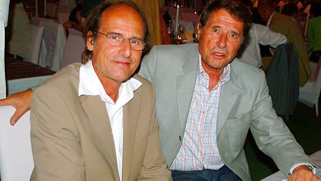 Udo Jürgens mit seinem Bruder Manfred Bockelmann (Bild: Evelyn Hronek)