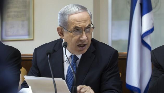 Israels Premierminister Benjamin Netanyahu (Bild: AP)