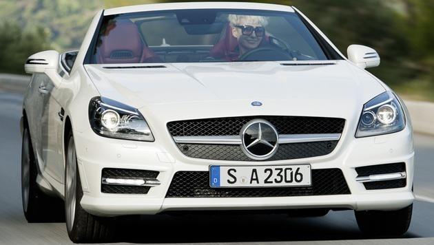 Der Mercedes SLK ist beim TÜV besonders positiv aufgefallen (Bild: Daimler)