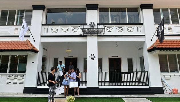 Luxus pur für vier Pfoten wartet im Wagington Hotel in Singapur. (Bild: AFP)