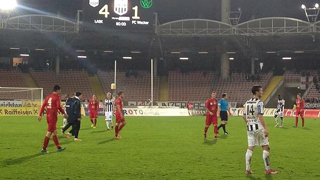 Der LASK siegt gegen Wacker Innsbruck 4:1. (Bild: facebook.com/lasklinz)