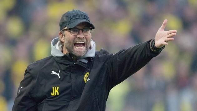 Trainer Jürgen Klopp muss mit Dortmund bei Meister Bayern ran.