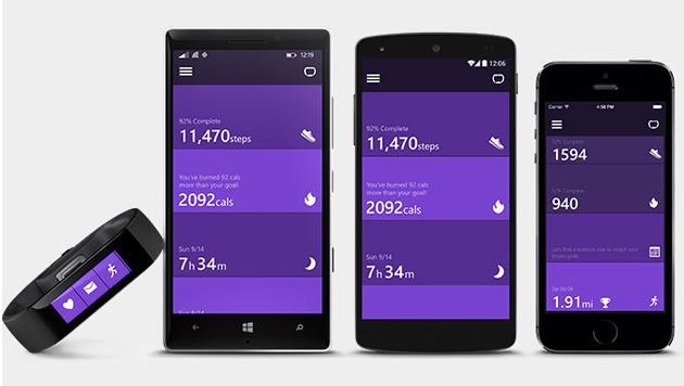 Microsofts Wearable-Erstlingswerk funktioniert mit allen gängigen Mobilbetriebssystemen.