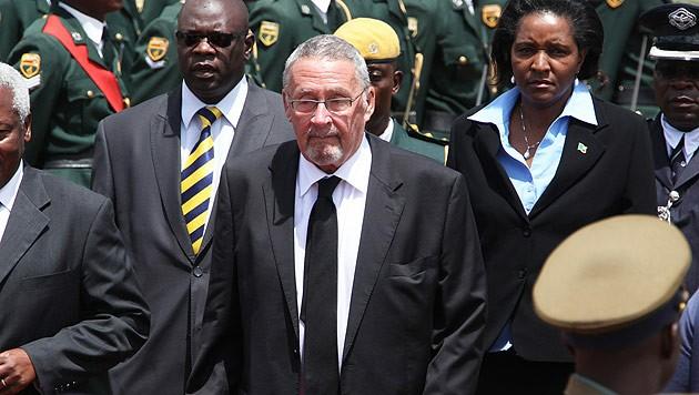Guy Scott ist derzeit der einzige weiße Politiker, der ein afrikanisches Land führt.