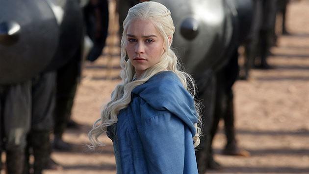 """""""Game of Thrones"""" - im Bild Star Emilia Clarke - ist die am öftesten illegal heruntergeladene Serie."""