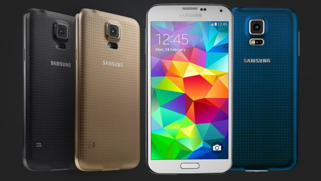 Optisch unterscheidet sich das Galaxy S5 Plus nicht vom Original.