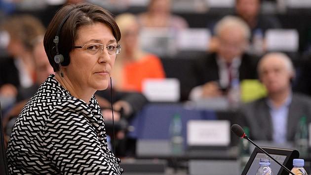 Violeta Bulc bei ihrem Hearing im EU-Parlament