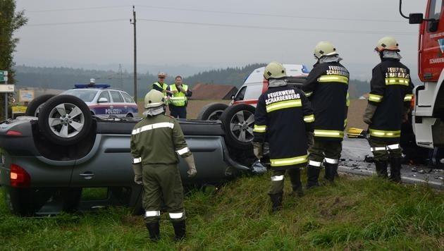 In dem Wagen des Deutschen saß auch seine 15-jährige Tochter. Beide wurden verletzt.