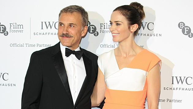 """Christoph Waltz läutet mit Schnauzbart den """"Movember"""" ein. (Bild: Invision)"""
