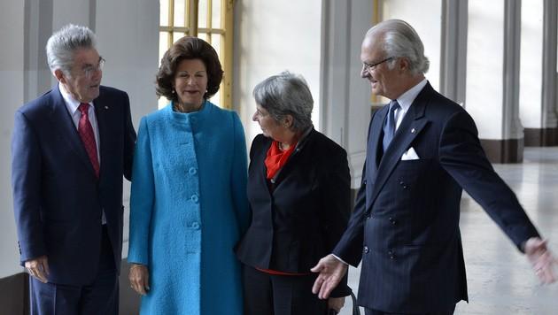 Bundespräsident Heinz Fischer zu Besuch in Schweden