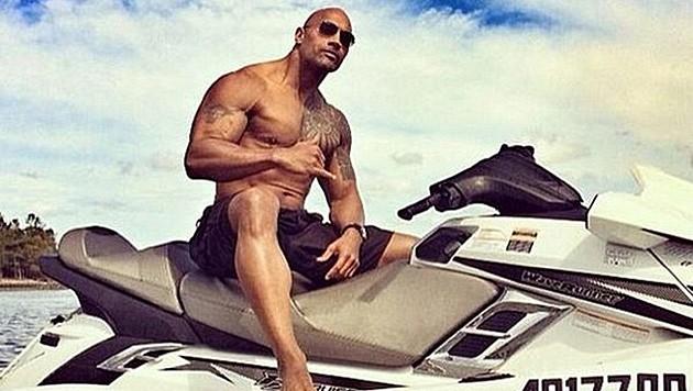 """Dwayne """"The Rock"""" Johnson hat seine Teilnahme am """"Baywatch""""-Film bestätigt. (Bild: instagram.com/therock)"""