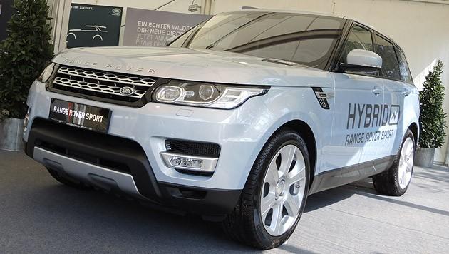 Land Rover hat leider nicht den neuen Discovery Sport dabei. (Bild: Stephan Schätzl)