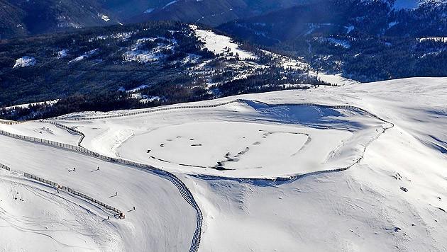 Speicherteich am Aineck im Salzburger Lungau (Bild: Roland Holitzky)