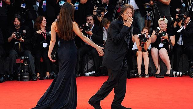 Al Pacino liebt die Filmfestspiele von Venedig. Cannes und Berlin lässt er links liegen. (Bild: AFP)