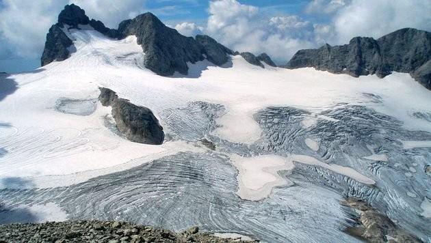 Dieses Foto vom Hallstätter Gletscher stammt aus dem August 2014 (Bild: Bermicourt)