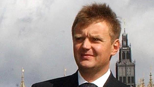 Eine Aufnahme von Alexander Litwinenko aus dem Jahr 2004