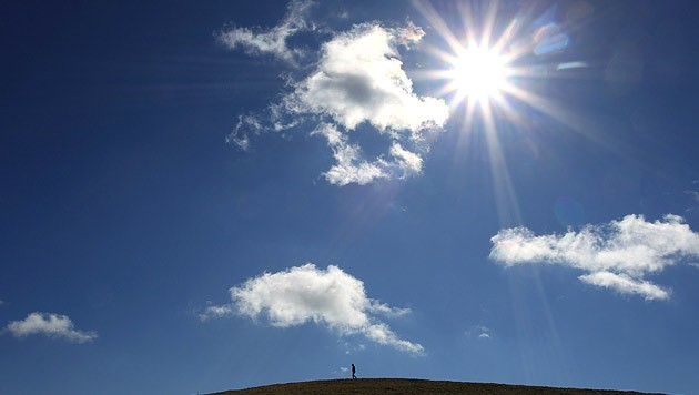 Viele Steirer haben die Sonne schon lang nicht mehr gesehen... (Bild: AP)