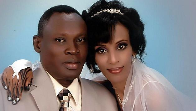 Daniel Wani und Ehefrau Mariam Jahia Ibrahim Ishak (Bild: facebook.com/Daniel Wani)