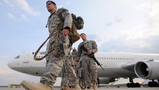 US-Soldaten im Irak (Bild: ERIK S. LESSER/EPA/picturedesk.com)