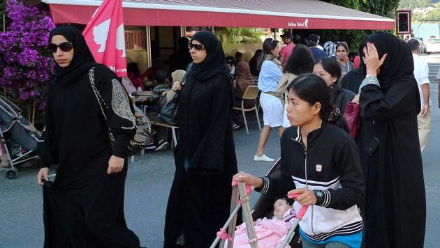 Der Pinzgau und Zell am See sind bei arabische Touristen sehr beliebt. (Bild: APA/Barbara Gindl)