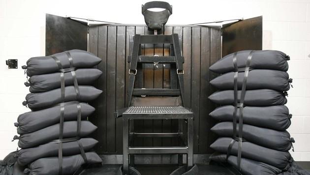 Der Hinrichtungsraum für das Erschießungskommando in Utah