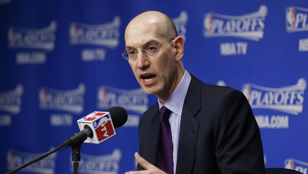 NBA-Commissioner Adam Silver (Bild: AP)