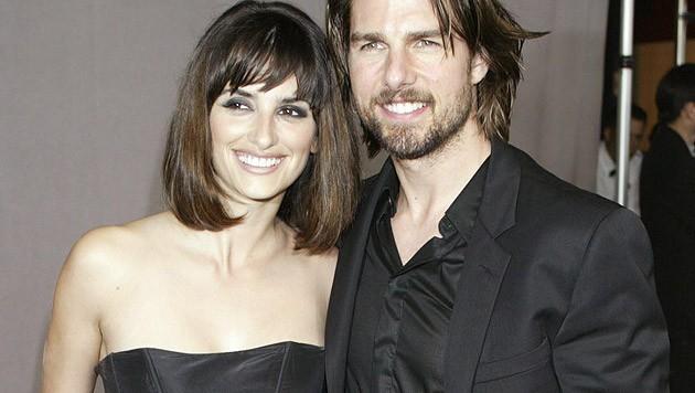 Von 2001 bis 2004 war Penelope Cruz mit Tom Cruise liiert.