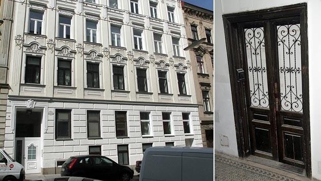 In diesem Gebäude in Wien-Ottakring wurde eine Hausdurchsuchung durchgeführt. (Bild: Andi Schiel)