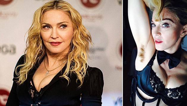 Madonna verschafft den Achselhaaren ein Comeback > Stars