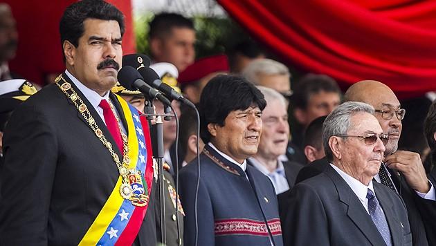 (Bild: APA/EPA/MIGUEL GUTIERREZ)