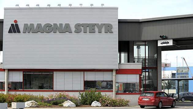 Das Magna-Werk in Graz-Thondorf. (Bild: APA/Harald Schneider)
