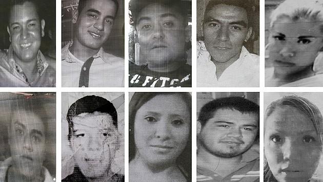In Mexiko werden Zehntausende Menschen vermisst. (Bild: AP)