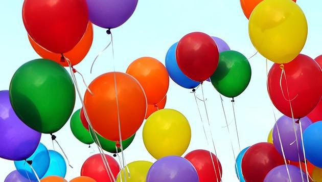 Luftballon Krone